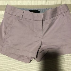J. Crew Chino short in Lavender